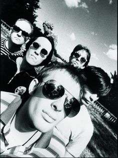 Radiohead, 1992 - By Steve Gullick for EMI