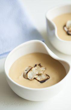 Smoky Sunchoke and Cauliflower Soup | Notey