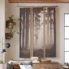 Forest Triptych Mural #pbteen