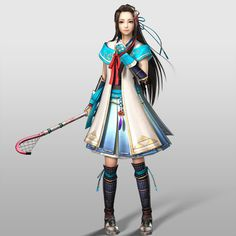 Lady Hayakawa | Samurai Warriors 4