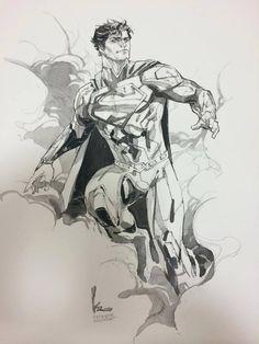 Superman by Kenneth Rocafort *
