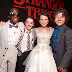 #SquadGoals at the #StrangerThings premiere.