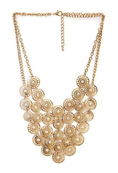 Good Fortune Bib Necklace   FOREVER21 - 1000104881
