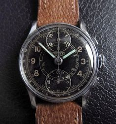 HEUER Up-Down Chronograph