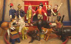 Schoenhut Humpty Dumpty Circus - wonderful antique toys!