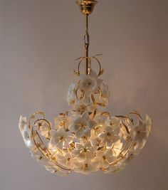 Magnificent modern cappuccino colored Murano glass chandelier with 24 lights