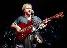 Mark King of 80's group Level 42.