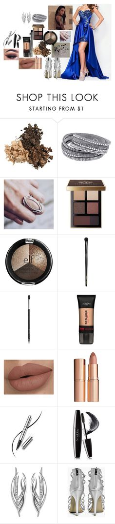 """Zia"" by amour-vicieux ❤ liked on Polyvore featuring Masquerade, Bobbi Brown Cosmetics, e.l.f., INIKA, Chanel, L'Oréal Paris, Charlotte Tilbury, Chantecaille, Nanacoco and Shaun Leane"
