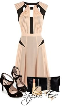 """NADA"" by stylisheve ❤ liked on Polyvore Pretty Outfits, Pretty Dresses, Beautiful Dresses, Unique Dresses, Stylish Outfits, Cute Outfits, Formal Dresses, Vestido Social, Church Outfits"
