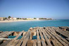Cabo Verde, il pontile di Santa Maria