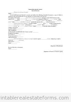 Sample Printable Pp Trust Form  Printable Real Estate Forms
