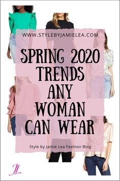 Spring 2020 Trends Any Woman Can Wear – Style by Jamie Lea Ny Fashion Week, 2020 Fashion Trends, Spring Fashion Trends, Fashion Moda, Fashion 2020, Fashion Tips, 50 Fashion, Womens Fashion, Fashion Events
