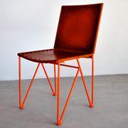 Garza Furniture - Marfa, Texas - Saddle Leather Dining Chair