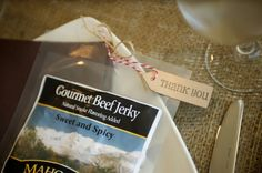 Party favor for your camping wedding