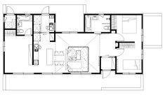 #10월호④-'그림 같은 풍경에 앉다' 32평 전원주택 Google Images, House Plans, Brunch, Floor Plans, How To Plan, Modern, Style, Swag, Trendy Tree