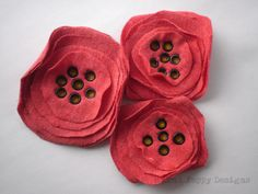 CUTE!  T-Shirt Poppies Tutorial!
