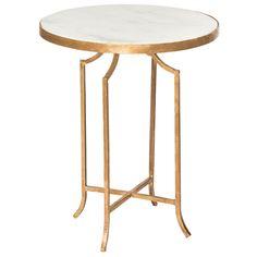 Aidan Gray Furniture Fuji Gold Occasional Table Set of 2. #laylagrayce