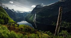 """Photograph """"The Green Fjord"""" by Max Rive"""
