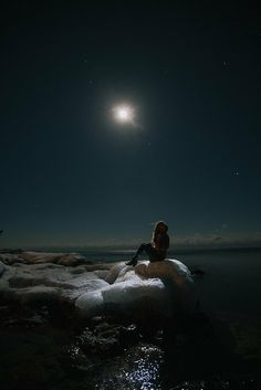 Star Gazing by Gunnar Cook Moon Pictures, Scenery Wallpaper, Moon Photography, Beautiful Moon, Moon Art, Anime Art Girl, Stargazing, Night Skies, Cute Wallpapers