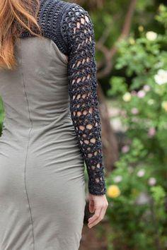 Crochet Lace Shrug