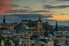 Alle Größen | Edinburgh evening skyline | Flickr - Fotosharing!