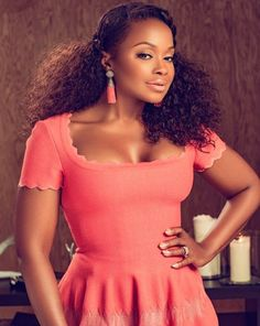 Phaedra Parks in Rolling Out Magazine