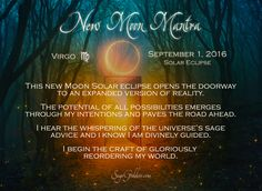 New Moon Mantra for Celebrating Solar Eclipse Magic #newmoon #mantra…