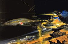70s Sci-Fi Art: My six favorite double-page spreads from Peter...