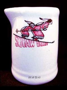 Squaw Valley Creamer (Tepco China, 1950's).