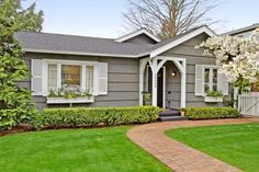 55+ GORGEOUS EXTERIOR COLOR SCHEMES FOR RANCH STYLE HOMES - Page 27 of 59