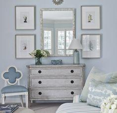 Bedroom chest vignette