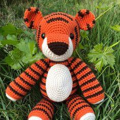 Thomas the Tiger Amigurumi Pattern