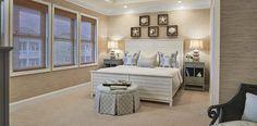 Tranquil Coastal Bedroom - Decorating Den Interiors