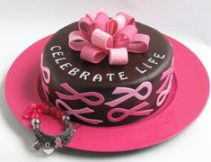 1000+ images about Cancer Ribbon Cake on Pinterest | Breast cancer cake, Pink ribbons and Ribbon ...
