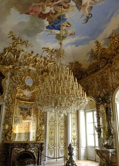 GERMANY ~ Linderhof Castle  or Linderhof Palace ~ is a Schloss in Germany, in southwest Bavaria near Ettal Abbey. It is the smallest of the three palaces built by King Ludwig II of Bavaria and the only one which he lived to see completed.
