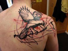 I WANT THIS!!! polka trash tattoo