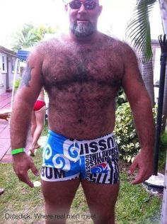 Good Daddy bear huge cock