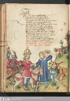 24 [10v] - Ms. germ. qu. 12 - Die sieben weisen Meister - Seite - Mittelalterliche Handschriften - Digitale Sammlungen