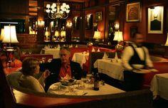 Inside of Luigi's Restaurant.