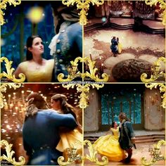New snippets of Emma Watson and Dan Stevens dancing in 'Beauty and the Beast'