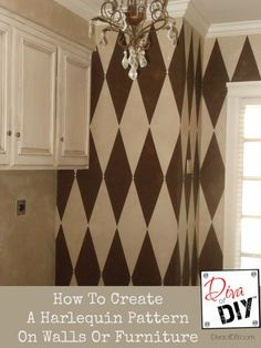 How to Create a Harlequin Pattern