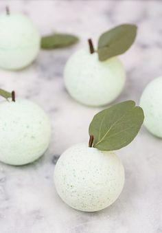 DIY Green Apple Bath