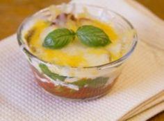 Minute Microwave Lasagna in a Mug Recipe