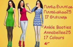 Sims 4 CC's - The Best: Shoes by Five by Five