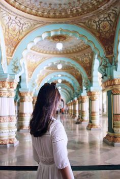 Mysore Palace in Karnataka India Mysore Palace, Weather In India, India Country, Backpacking India, India Culture, Visit India, Historical Monuments, Tourist Places, South India