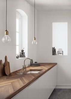 Kitchen trends 2019 - do it yourself decoration - interior - decoration interior .Kitchen trends 2019 - do it yourself decoration - INTERIOR - decoration interior kitchen trends do it yourselfDining chairs & kitchen Warm Home Decor, Home Decor Kitchen, Kitchen Ideas, Kitchen Inspiration, Diy Kitchen, Kitchen White, Kitchen Modern, Kitchen Sink, Decorating Kitchen