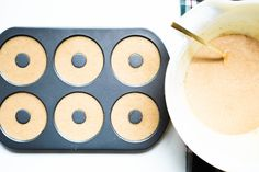 Homemade Mini-Donut Cakes Recipe