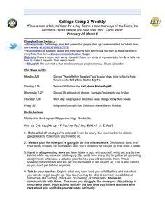 Week 6 syllabus (page 1)