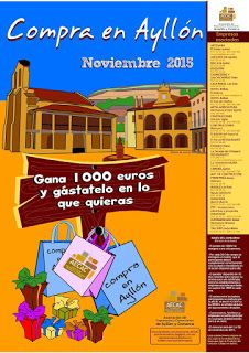 AECAC - Asociación de Comerciantes y Empresarios de Ayllón y su comarca: AECAC premia con 1000 € a una vecina de Ayllón.