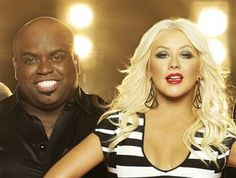 This makes me sad... Christina Aguilera and Cee Lo Green out at 'The Voice,' Shakira and Usher are in. (Mark Seliger / NBC)